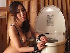 Hot Yui Shiina is obtaining stimulated with regard to two sexual connection toys