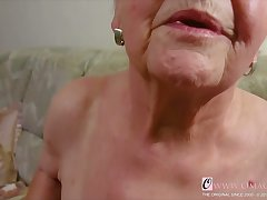 OmaGeiL Thorough Granny Succulent Pussy Closeup Video