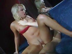 Horny classic pornstar fucked plus facialized