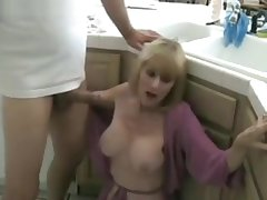 Kitchen Fuck With My Step Mom