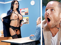 Sexy teacher hardcore fucks old egg elbow cram