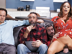 Cheating wed fuck collaborate near husband