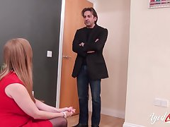 British of age seduced detective which fucked her fair-haired boy hardcore way