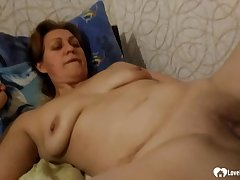 Aunt receives oral pleasures up ahead she's fucked