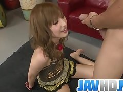 Adorable bimbo sure enjoys fucking in biting ways - More at JavHD.net