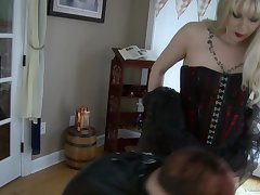 Mistress Acridness & Ava Mir-Ausziehen in My Red-Headed Fuck Toy - KINK