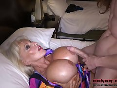 Massive jugged, platinum-blonde grandma doesn't plan all over stop penetrating men, because it perceives so excellent