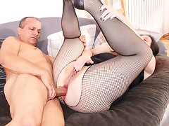 ReifeSwinger - BBW German Spliced Tries Hard Anal With Cut corners