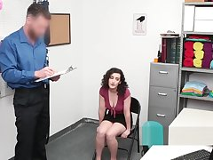 Sexy Lyra Lockhart has to jack absent get under one's officer's prick