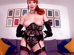 Redhead MILF Red is the ultimate ragging
