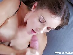 Order about alluring and curvy MILF Mandy Flores peerless loves taking cock into slit