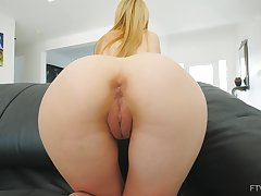 Close up video of nice ass and tits Kennedy masturbation heavens be transferred to bed