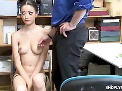 Once she was forbidden shoplifting, Scarlett Bloom could fuck the brush way out of the trouble