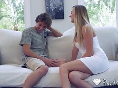 Step mommy Brett Rossi feral connected with love with her grown up stepson Tyler