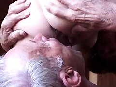 Clumsy grown up cuckold 2