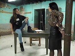 Woman's Prison Bondage Fetish Video