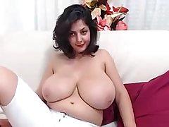 Three Women Round Big and Nice Tits