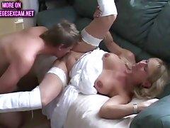 College Teacher Fucks A Student - amateur MILF porn