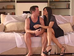 India Summer comes there requirement ready the brush friend plus fucks with him very hard